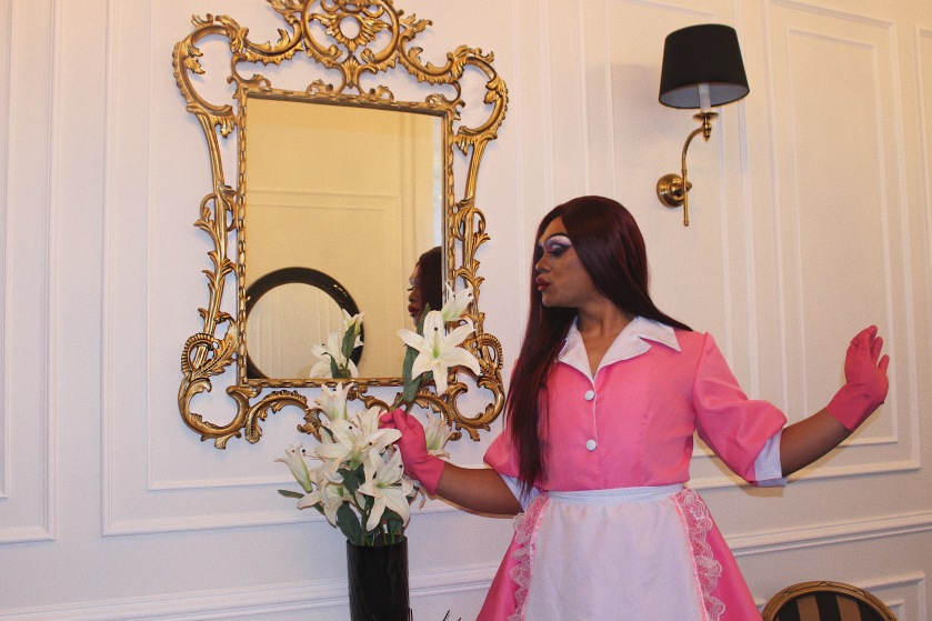 Housekeeping is Halatoa's first attempt at a theatre show and a once in a lifetime audience experience set in the five star hotel scene in which Princess grew up.